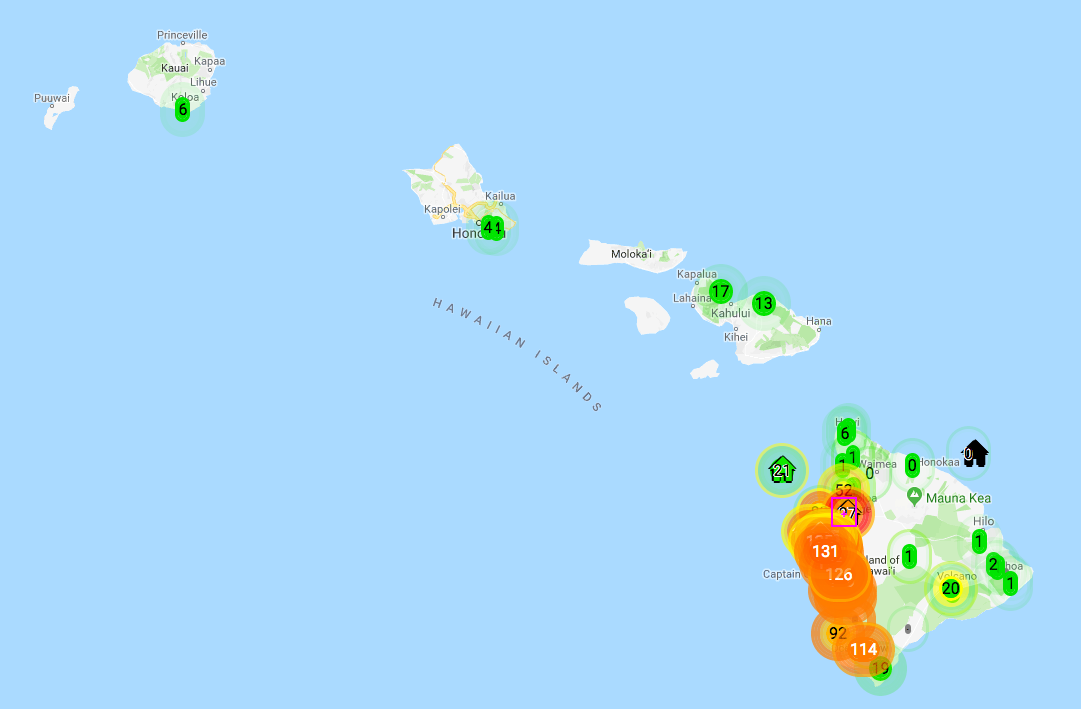 hawaii air quality IAQ