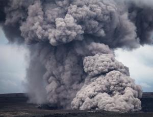 Kilauea Ash